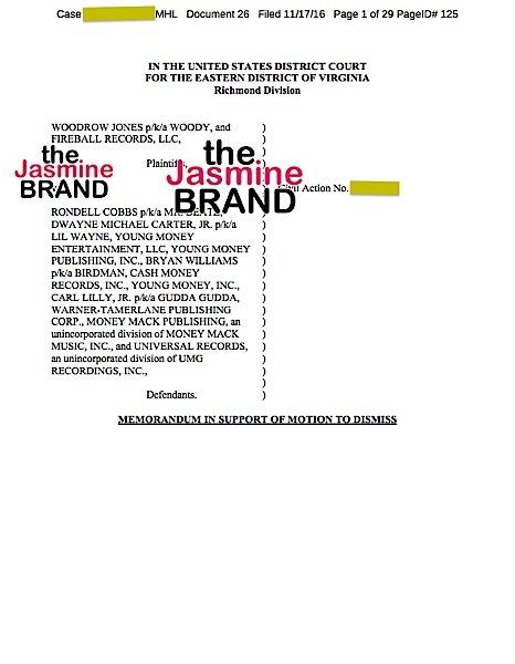 (EXCLUSIVE) Birdman Denies Illegally Sampling Music Producer In Lawsuit