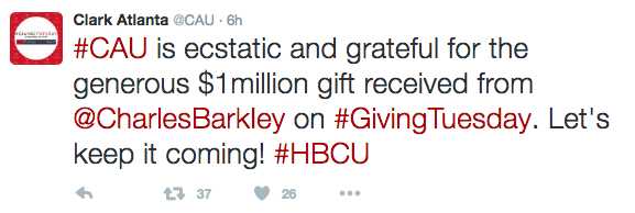 Charles Barkley Donates $1 Million To 2 HBCU's: Clark Atlanta University & Alabama A&M