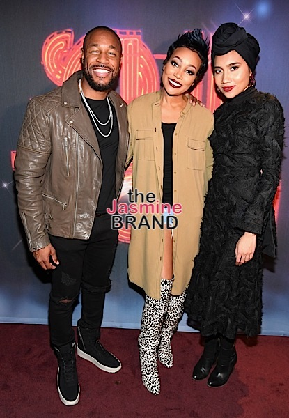 "Monica, Tank & Yuna Perform at Soul Train Weekend's ""Acoustically Speaking"""