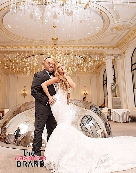 Adrienne Bailon & Husband Remained Celibate Until Wedding Night: We waited for this moment.
