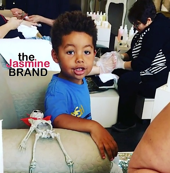 Amber Rose's Son Gets Manicure & Pedicure: F**k gender roles! [VIDEO]