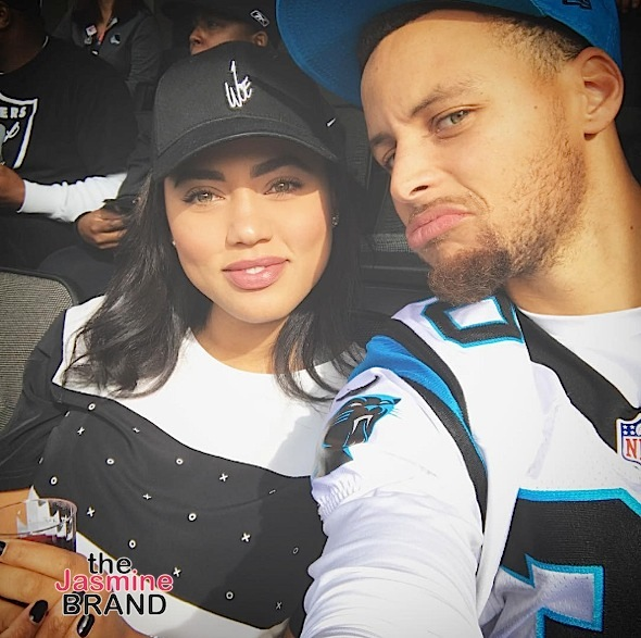 "ac1f3725b37 Ayesha Curry Opens Up About Groupies ""Lurking Around"" Steph Curry & Her  Battle W/ Anxiety: I Actually Take Medication For It"