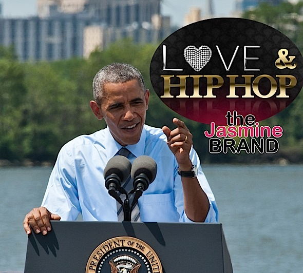 "President Obama Watches ""Love & Hip Hop"" [VIDEO]"