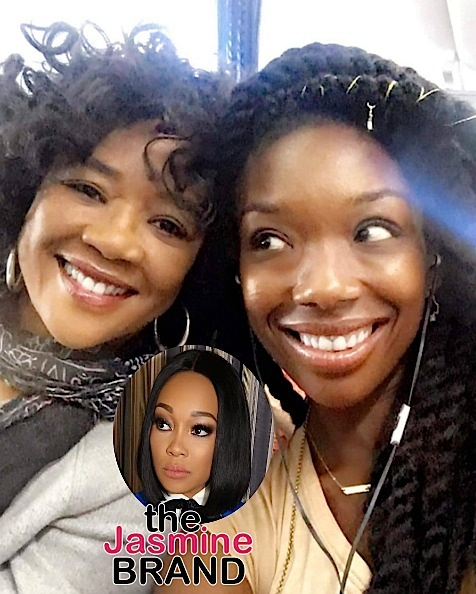 Brandy's Mother Sonja Norwood Jumps In Monica Feud: My daughter is the vocal bible!