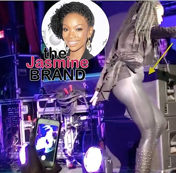 Brandy Pregnancy Speculation Erupts After DC Show [Ovary Hustlin']