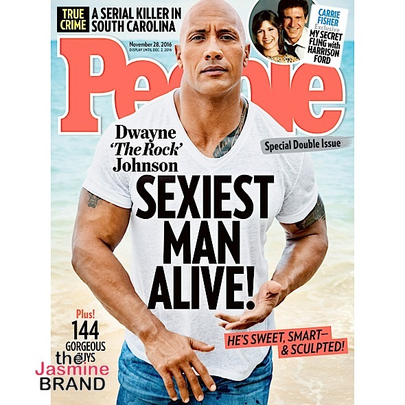 Dwayne 'The Rock' Johnson Named Sexiest Man Alive