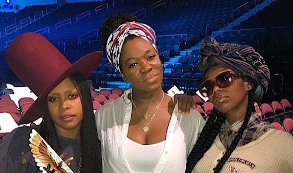 Erykah Badu, Brandy & India Arie's Comfy Slay, Jay Z, J.Cole & Big Sean Backstage, Kid Cudi Fresh From Rehab + Tina Lawson Channels Bey & Solange [Photos]