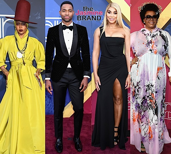 Soul Train Awards: Erykah Badu, Jay Ellis, Tamar Braxton, Jill Scott, India Arie, Tank, Teyana Taylor, V. Bozeman, Claudia Jordan, Remy Ma, Fat Joe, Draya Michele, Omarosa