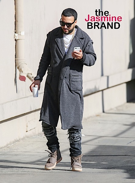 """French Montana Sighted at """"Jimmy Kimmel Live!"""" on November 17, 2016"""