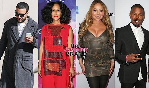 Celebrity Stalking: Cece Winans, Jasmine Sanders, French Montana, Tracee Ellis Ross, Mariah Carey, Jamie Foxx [Photos]