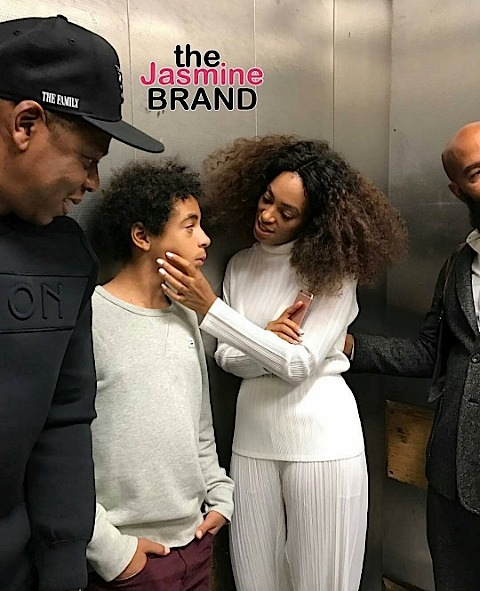 Tina Lawson Posts & Deletes Jay Z & Solange Elevator Pic, Blac Chyna Promises An Immediate Snap Back + Rihanna Films Ocean's 8