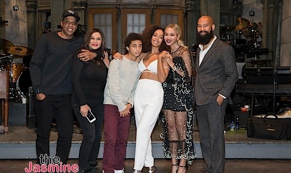 Solange Knowles Celebrates SNL After Party With Beyonce, Jay Z, Tina Lawson, Leslie Jones & Dave Chappelle [Photos]