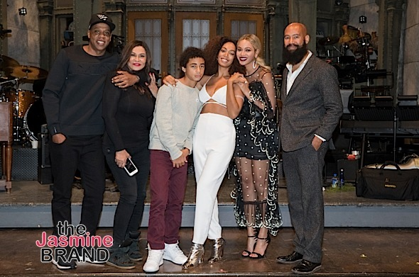 Solange Knowles Celebrates SNL With Hubby, Beyonce, Jay Z, Tina Lawson, Leslie Jones & Dave Chappelle [Photos]