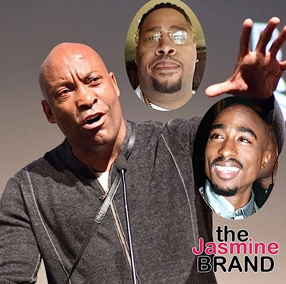 Producer Calls Out John Singleton For Trashing Tupac Biopic: Your Mouthpiece Will Get Knocked Off! [VIDEO]