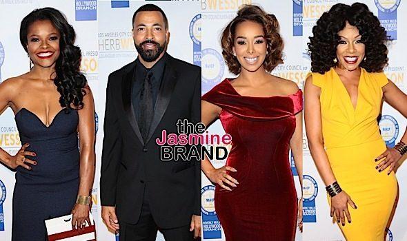 Samuel L. Jackson, Gabrielle Dennis, Loretta Devine, Keesha Sharp, Timon Kyle Durrett, Gloria Govan Attend NAACP Theatre Awards [Photos]