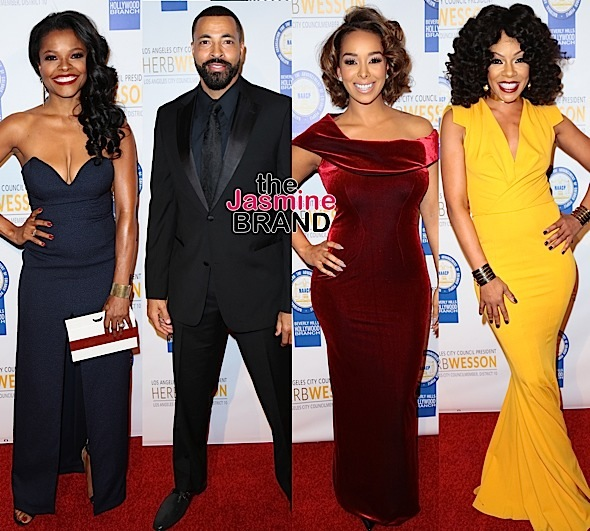 Samuel L. Jackson, Gabrielle Dennis, Loretta Devine, Keesha Sharp, Timon Kyle Durrett, Gloria Govan Attend NAACP Theatre Awards [Photos]