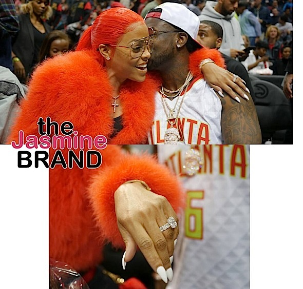 Gucci Mane Proposes To Keyshia Kao'ir With 25Karat Ring!