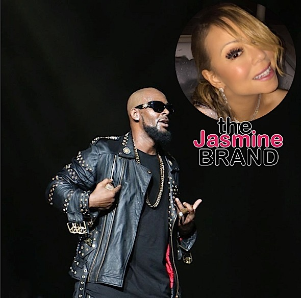R.Kelly & Mariah Carey Hint At New Music + Omari Hardwick & Rotimi Hit The Studio [Photos]