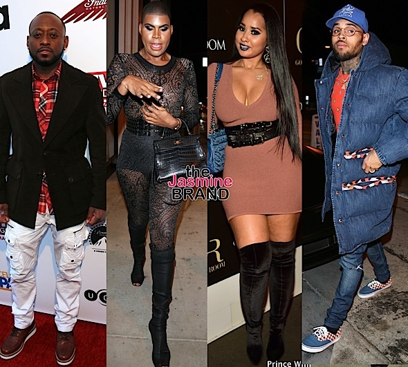 Celebrity Stalking: Omar Epps, EJ Johnson, Tammy Rivera, Chris Brown, Russell Simmons, Zendaya