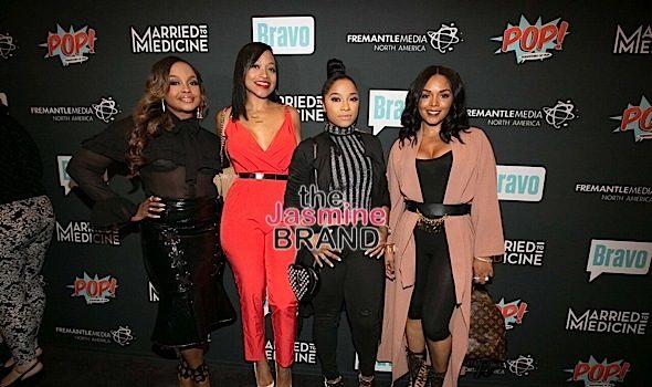 Married to Medicine Celebrates Premiere: Phaedra Parks, Monyetta Shaw, Toya Wright, Rasheeda Frost Attend [Photos]