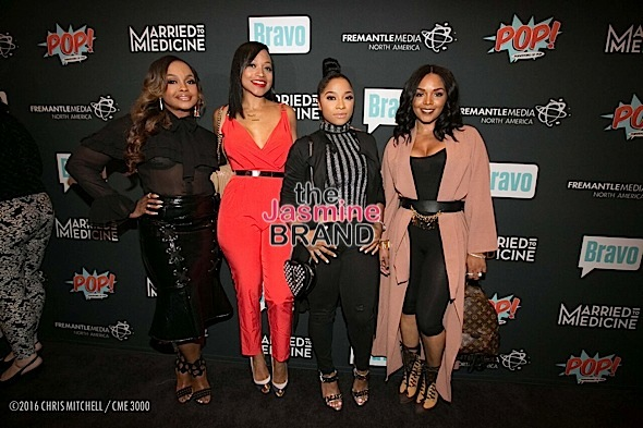Married to Medicine Celebrates Premiere: Phaedra Parks, Monyetta Shaw, Toya Wright, Rasheeda Attend [Photos]
