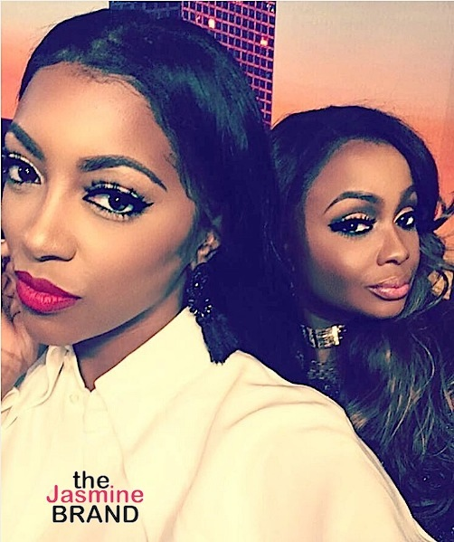 Porsha Williams Confronts Phaedra Parks In Tears