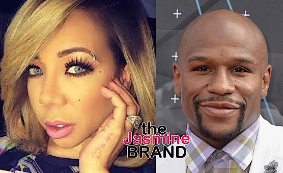 Video Leakes Of Floyd Mayweather Dancing With Tameka 'Tiny' Harris