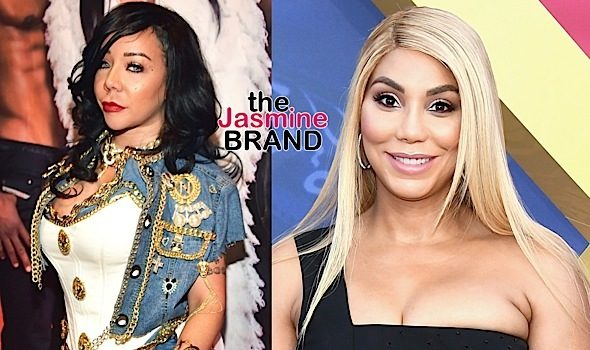 Tamar Braxton Allegedly Ends Friendship With Tameka 'Tiny' Harris + Singer & Critic Trade Instagram Insults [Photos]
