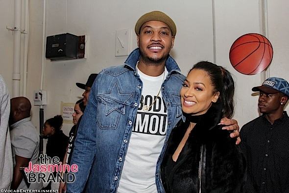 Carmelo Anthony Accused of Cheating On Lala, Impregnated Stripper