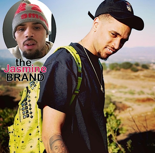 Chris Brown Threatens Cousin: You ungrateful p**y a** n*gg*!