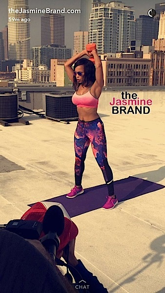 [Body Goals] We're Drooling Over Tina Lawson, Meagan Good & Elise Neal's Toned Bods