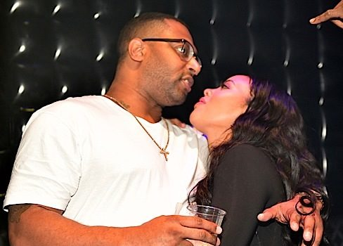 Angela Simmons Booed-Up With Fiance Sutton Tennyson At Club [Photos]