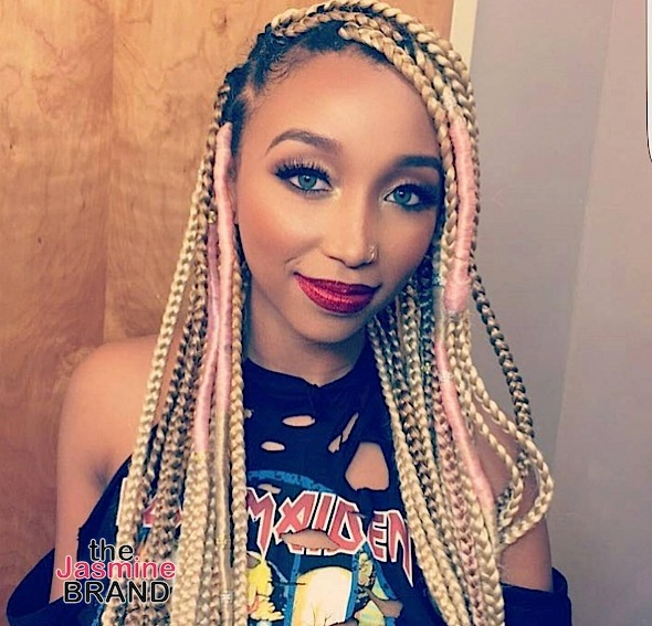 Zonnique Pullins Real Hair (EXCLUSIVE) Tin...
