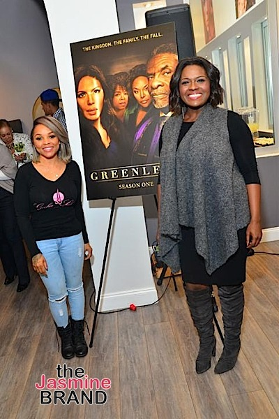 "Celeb Salons Celebrate Blu-ray/DVD Release of ""GREENLEAF"": Angell Conwell, Andre Fuller, Gocha Hawkins, Deborah Joy Winans Attend [Photos]"