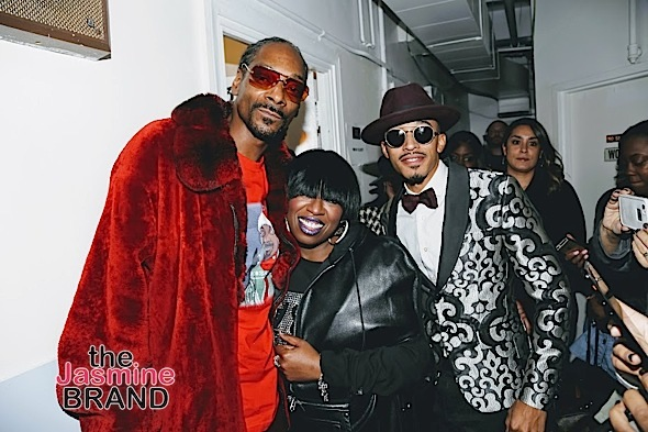"Tyrese, NeYo, Alicia Keys, Taye Diggs, Andra Day, Missy Elliott, Snoop Spotted At Taraji P. Henson's ""White Hot Holidays"" [Photos]"