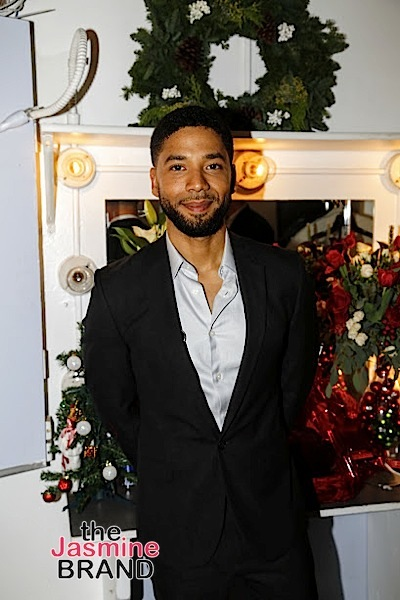 BEVERLY HILLS, CA - DECEMBER 08: Jussie Smollett BTS at Taraji's White Hot Holidays TV Special at the Saban Theatre as seen on Fox TV Thursday, December 8, 2016 in Beverly Hills, California. (Photo by A Turner Archives)