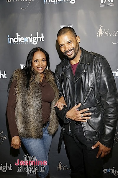 HOLLYWOOD, CA - DEC 3: Actress Jazsmin Lewis and actor Trae Ireland star in (For The Love of Christmas) out in theaters DEC 25 seen at Indienight Film Festival 2016 Season Finale at TCL Chinese Theatre on Saturday, December 3rd, 2016 in Hollywood, California. (Photo by: A Turner Archives)