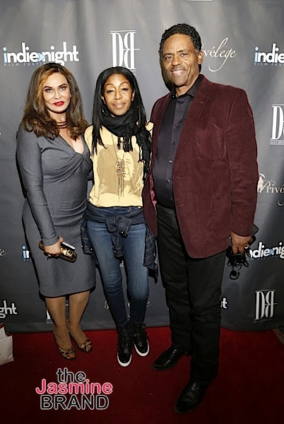 Jazsmin Lewis, Trae Ireland, Tina Lawson, Robi Reed Spotted At Indie Night