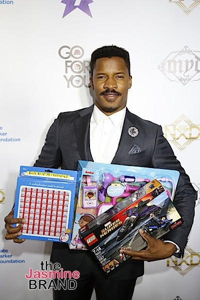 HOLLYWOOD, CA - DECEMBER 05: Actor Nate Parker seen at Hill Harper & Nate Parker 9th Annual Manifest Your Destiny Toy Drive & Fundraiser at the W Hotel on Tuesday, December 5, 2016 in Hollywood, California. (Photo by A Turner Archives)