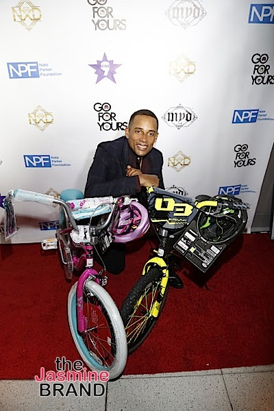 HOLLYWOOD, CA - DECEMBER 05: Actor Hill Harper seen at Hill Harper & Nate Parker 9th Annual Manifest Your Destiny Toy Drive & Fundraiser at the W Hotel on Tuesday, December 5, 2016 in Hollywood, California. (Photo by A Turner Archives)