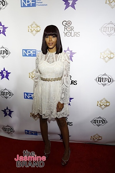 HOLLYWOOD, CA - DECEMBER 05: Moniece Slaughter seen at Hill Harper & Nate Parker 9th Annual Manifest Your Destiny Toy Drive & Fundraiser at the W Hotel on Tuesday, December 5, 2016 in Hollywood, California. (Photo by A Turner Archives)