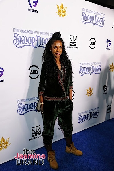 HOLLYWOOD, CA - DECEMBER 10: Kim Porter seen at Snoop Dogg Smoked Out Roast and Birthday Celebration TV Special taped at the Avalon as seen on Fusion TV Saturday, December 10, 2016 in Hollywood, California. (Photo by A Turner Archives)