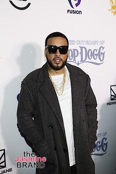 HOLLYWOOD, CA - DECEMBER 10: French Montana seen at Snoop Dogg Smoked Out Roast and Birthday Celebration TV Special taped at the Avalon as seen on Fusion TV Saturday, December 10, 2016 in Hollywood, California. (Photo by A Turner Archives)