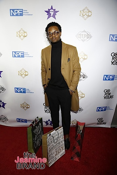 HOLLYWOOD, CA - DECEMBER 05: BJ The Chicago Kid seen Hill Harper & Nate Parker 9th Annual Manifest Your Destiny Toy Drive & Fundraiser at the W Hotel on Tuesday, December 5, 2016 in Hollywood, California. (Photo by A Turner Archives)