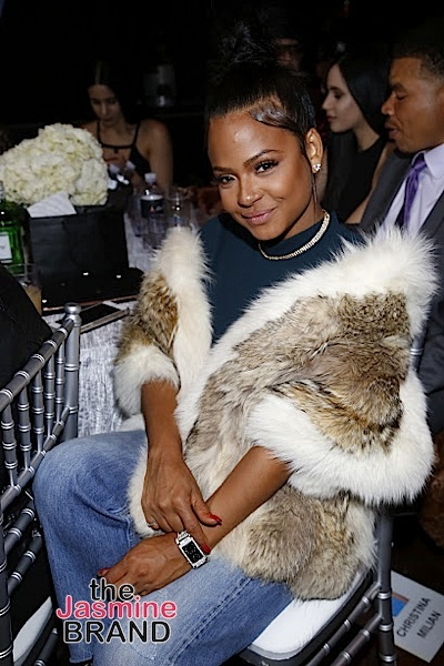 HOLLYWOOD, CA - DECEMBER 10: Christina Milianl seen at Snoop Dogg Smoked Out Roast and Birthday Celebration TV Special taped at the Avalon as seen on Fusion TV Saturday, December 10, 2016 in Hollywood, California. (Photo by A Turner Archives)