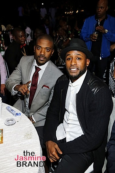 HOLLYWOOD, CA - DECEMBER 10: Ray J and Jackie Long seen at Snoop Dogg Smoked Out Roast and Birthday Celebration TV Special taped at the Avalon as seen on Fusion TV Saturday, December 10, 2016 in Hollywood, California. (Photo by A Turner Archives)