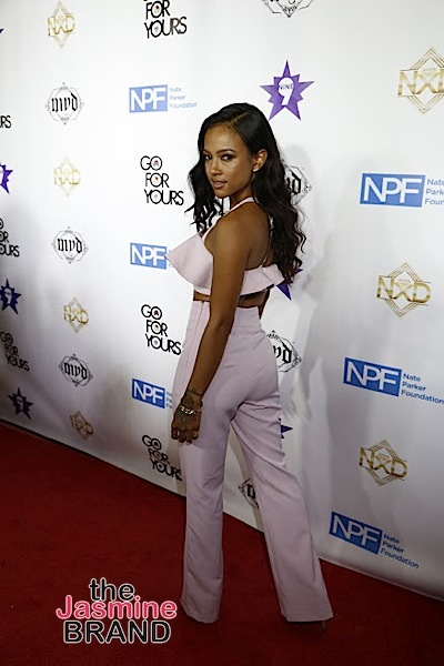 HOLLYWOOD, CA - DECEMBER 05: Karrueche Tran seen at Hill Harper & Nate Parker 9th Annual Manifest Your Destiny Toy Drive & Fundraiser at the W Hotel on Tuesday, December 5, 2016 in Hollywood, California. (Photo by A Turner Archives)