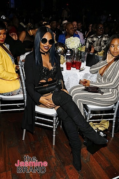 HOLLYWOOD, CA - DECEMBER 10: Ashanti seen at Snoop Dogg Smoked Out Roast and Birthday Celebration TV Special taped at the Avalon as seen on Fusion TV Saturday, December 10, 2016 in Hollywood, California. (Photo by A Turner Archives)