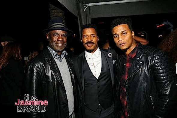 HOLLYWOOD, CA - DECEMBER 05: Actors Glynn Turman, Nate Parker and Cory Hardrict seen Hill Harper & Nate Parker 9th Annual Manifest Your Destiny Toy Drive & Fundraiser at the W Hotel on Tuesday, December 5, 2016 in Hollywood, California. (Photo by A Turner Archives)