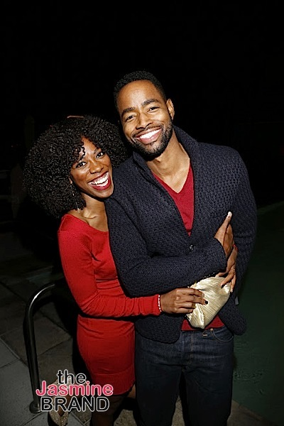 HOLLYWOOD, CA - DECEMBER 05: Actors Yvonne Orji and Jay Ellis (Insecure/HBO) seen at Hill Harper & Nate Parker 9th Annual Manifest Your Destiny Toy Drive & Fundraiser at the W Hotel on Tuesday, December 5, 2016 in Hollywood, California. (Photo by A Turner Archives)